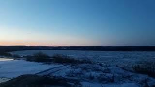 Ледоход на Томи начался в Томской области, 2018 год