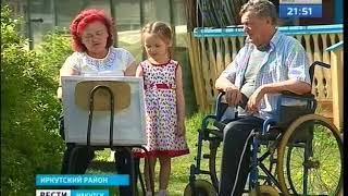 Пенсионерка из села Мамоны написала 20 метровую картину