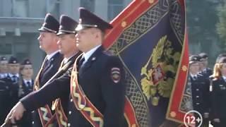 Строевым смотром отметили 300-летие создания ведомства полицейские ЕАО(РИА Биробиджан)