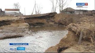 В Алтайском крае начали восстанавливать дома после паводка