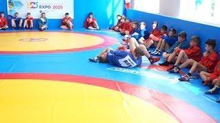 В школах Серова и Ревды открыли новые залы для занятий самбо