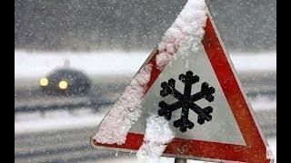 Непогода в Украине: увеличилось количество ДТП, обесточены населенные пункты