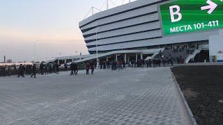 Первый матч на стадионе «Калининград»