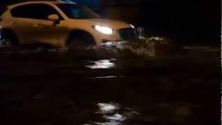 Потоп на Доломановском Ростов  7 марта 2018
