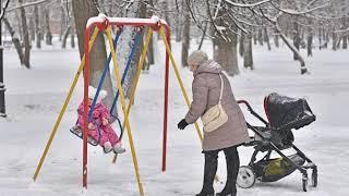 В Бутусовском парке установлен детский городок по европейским стандартам