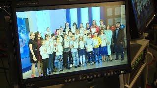 В студии телевидения «Первый кадр» состоялся выпускной