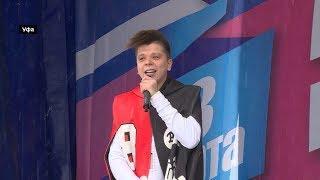 Радик Юльякшин исполнил свои хиты на концерте «Крымская весна» в Уфе