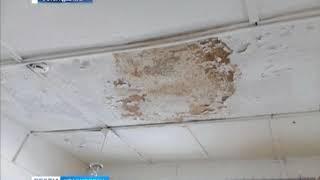 В деревне Альгинка Ирбейского района в школе обрушилась крыша