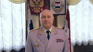 Поздравление министра внутренних дел по Республике Мордовия с 300-летием российской полиции