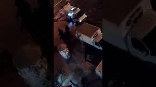 Подозрительные действия полицейских на видео