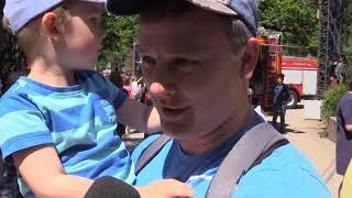 Спасатели отметили годовщину появления пожарной охраны
