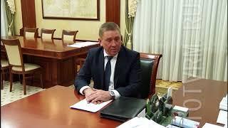 Владимир Волков провел рабочую встречу с главой Атюрьевского района