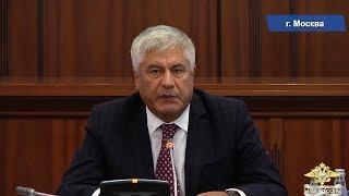 Владимир Колокольцев и члены Общественного совета обсудили вопросы безопасности дорожного движения