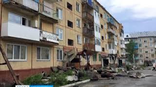 В Курагинском районе сгорела квартира и крыша пятиэтажки