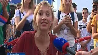 В Ростове начали демонтаж фан-зоны ЧМ