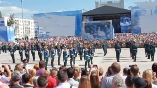 Церемониальный развод почетного эскорта Президентского полка в Орле
