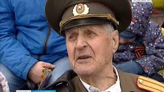 В краевом центре отметили 73 годовщину Великой Победы