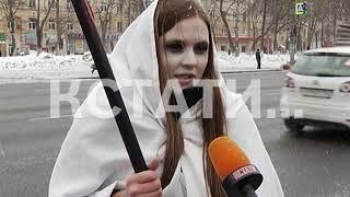 """""""Живой"""" летальный исход - «смертельная» акция прошла на нижегородских дорогах"""