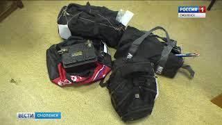 Смоленские полицейские задержали похитителей автомагнитол