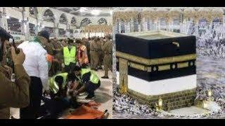 Today Makkah News __ A Man Suicide in Makkah __ Watch incident full video