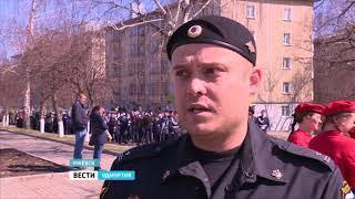 Генеральная репетиция Парада Победы прошла в Ижевске