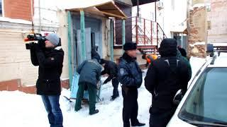 Два человека пострадали во время пожара в жилом доме Оренбурга