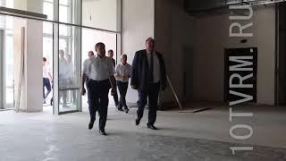 В Саранске строится Универсальный зал для ЧР по фигурному катанию.