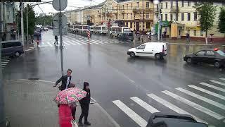 Авария на улице Кирова в Калуге