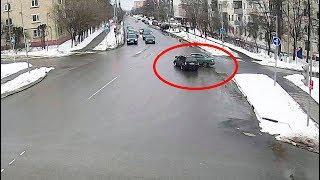 ДТП в Серпухове. Не уступил дорогу... 11 марта 2018г.