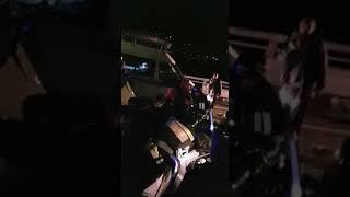 Смертельное ДТП на трассе Адлер - Альпика-Сервис в Сочи, 04.04.18