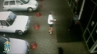 Грабеж в гипермаркете