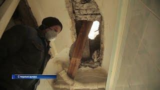 В Башкирии в жилом доме обрушился потолок