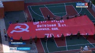 Герой Советского Союза пожелал удачи участникам автомарша с символом Победы