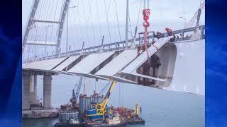 На Крымском мосту установлены ветрозащитные конструкции