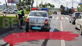 Пенсионерка-нарушитель попала под колеса иномарки в Череповце
