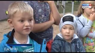 В Горно-Алтайске сдали благоустроенный двор по программе «Комфортная городская среда»