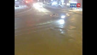 В Ельце в ДТП пострадала пассажирка