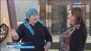 В ауле Кызыл-Октябрь идут работы по благоустройству населённого пункта