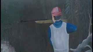 Слепцова вместо Бьорндалена: какие картины находятся в мастерской ханты-мансийского художника?