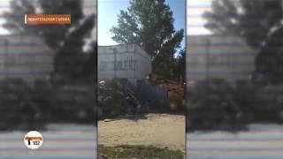 В мусорном плену: Свалка в Советском районе Волгограда перекрыла дорогу в детский сад