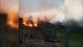 В Ярославской области случилось несколько пожаров