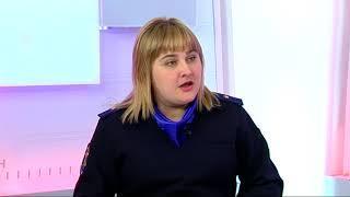 """Программа """"В центре внимания"""" интервью с Оксаной Гонтарь ."""