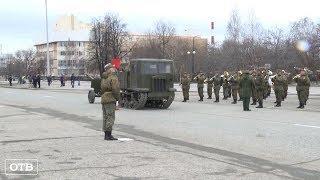 В Верхней Пышме прошла первая репетиция шествия ко Дню Победы
