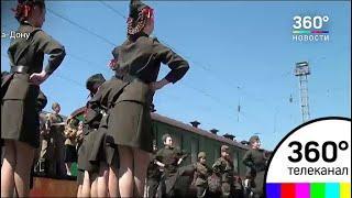 Ретро-поезд «Победа» завершил тур по югу России