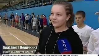 Мастер-класс по теннису от Игоря Куницына и Игоря Андреева