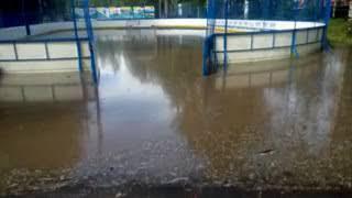 Спортплощадка-бассейн в Мичуринском парке