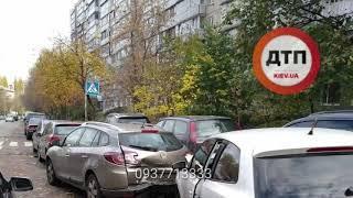 Масштабное дтп с пострадавшими в Киеве на #Кудряшева 14: #Опель #Убер не пропустил на перекрестке #Ф