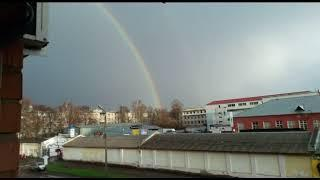 Ярославцы увидели первую в этом году радугу