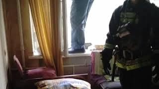 На пожаре в Ярославле пострадал мужчина