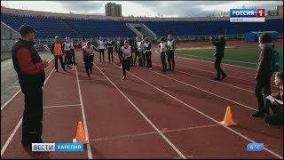 Воспитанники кадетского корпуса имени Александра Невского сдают нормы  ГТО